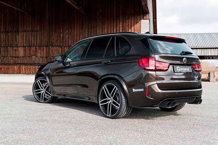 Тюнингованная BMW X5 M от G-Power