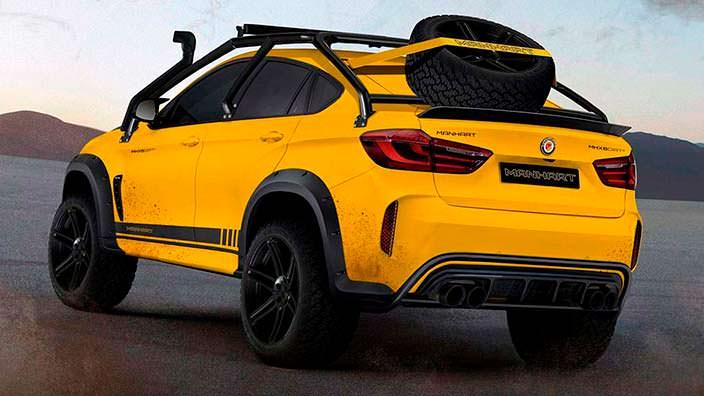 Монстр-внедорожник MHX6 Dirt² из BMW X6 M от Manhart