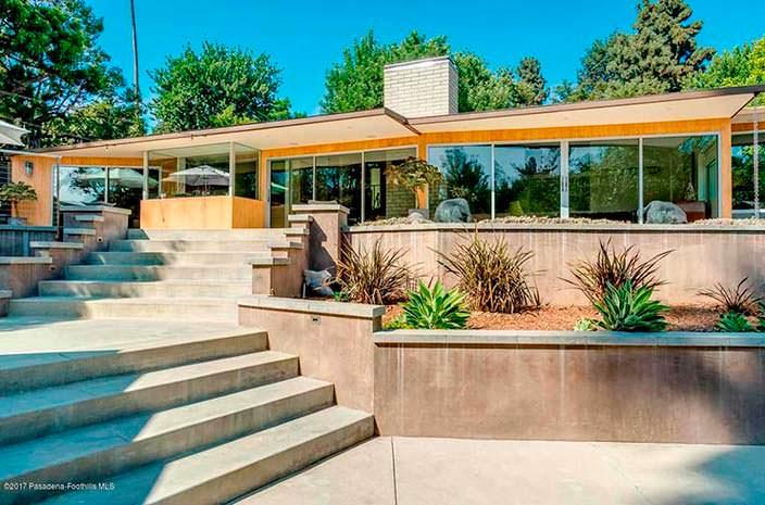 Дом актрисы Кристен Уигг в Калифорнии