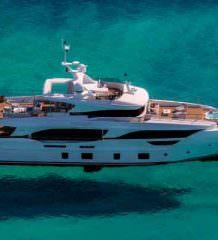 Первая яхта Benetti серии Delfino 95 доставлена | фото