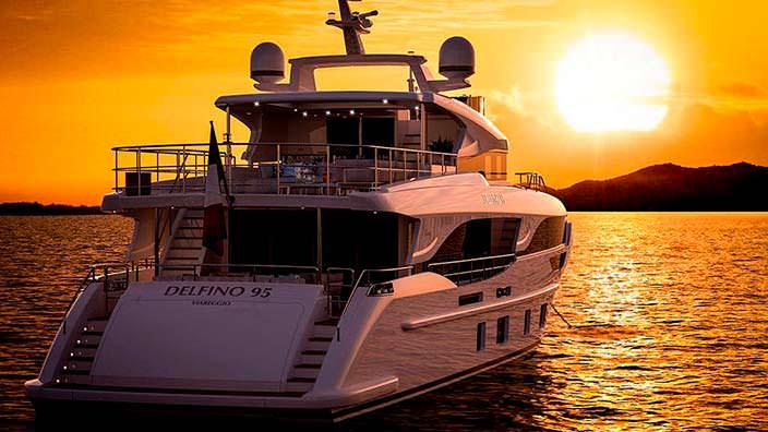 Новая яхта Benetti Delfino 95