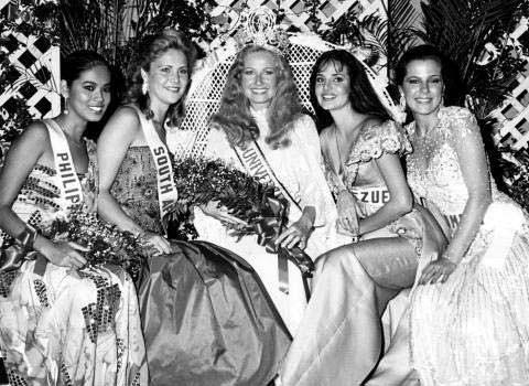 ТОП-5 конкурса «Мисс Вселенная 1984»