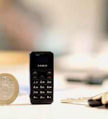 Zanco Tiny T1 - новый самый маленький телефон в мире