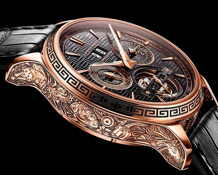 Золотые часы Chopard L.U.C Perpetual T: Spirit of Chinese Zodiac