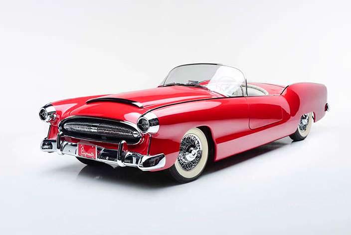 Единственный Plymouth Belmont 1954 года выпуска