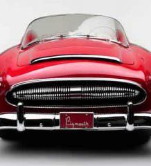 Plymouth Belmont 1954 года уйдет с молотка | фото, цена