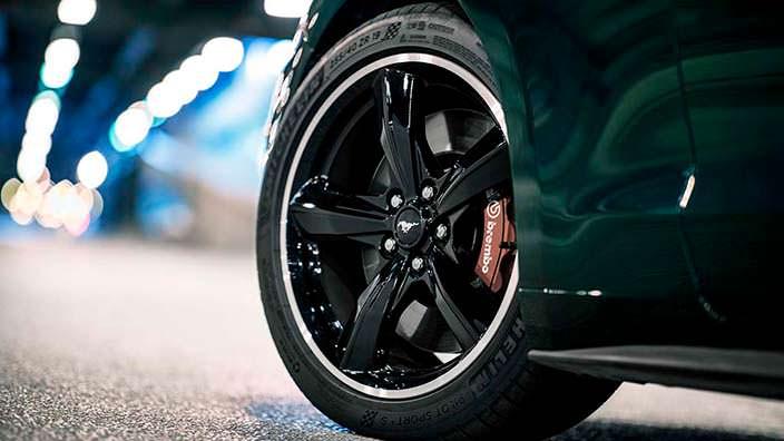 19-дюймовые колёсные диски Ford Mustang Bullitt
