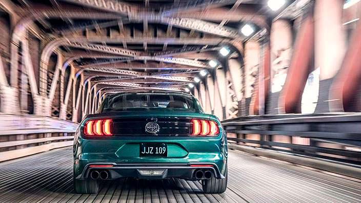 Новый Ford Mustang Bullitt 2019