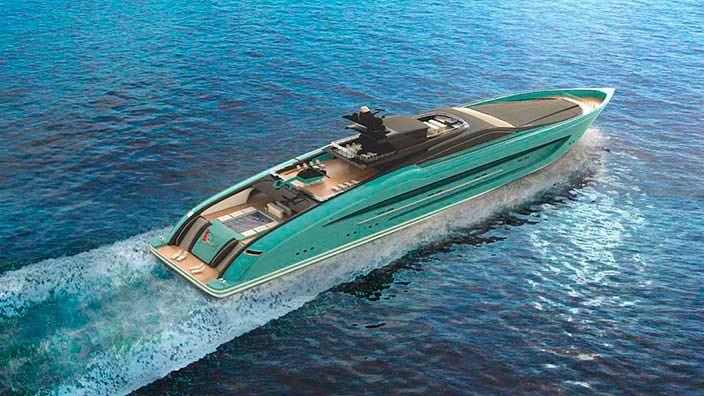 93-метровая яхта Strand Craft Project Speed
