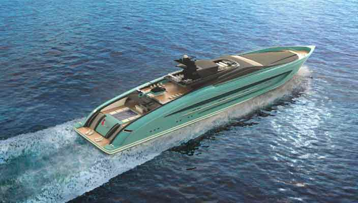 Strand Craft показал 93-метровую яхту Project Speed