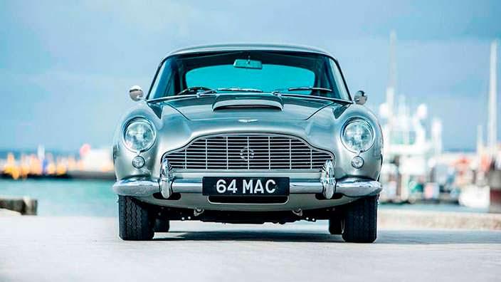 Aston Martin DB5 - автомобиль Пола Маккартни