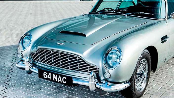 Aston Martin DB5 Пола Маккартни из The Beatles