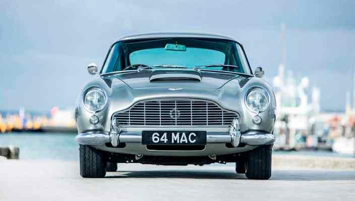 Aston Martin DB5 Пола Маккартни продается | фото и цена