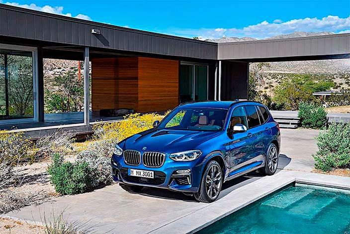 BMW X3. Лучший автомобиль 2018 года