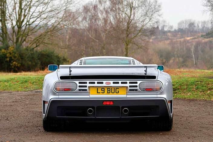 Bugatti EB110 SS Prototype 1993 года: цена $1 - $1,3 млн