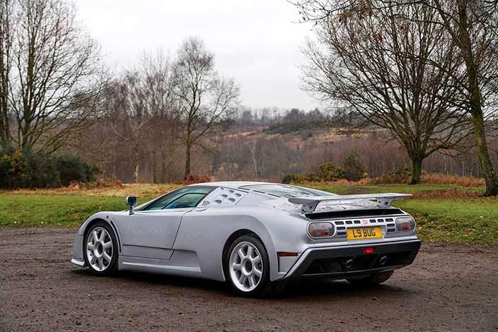 Единственная Bugatti EB110 SS Prototype