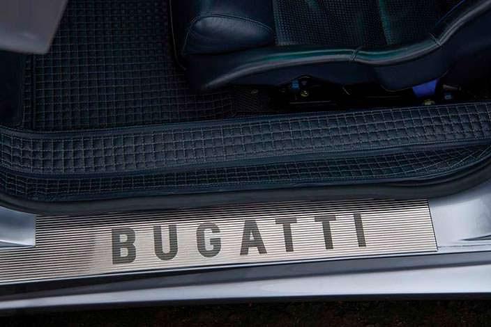 Дверные пороги Bugatti EB110 SS Prototype