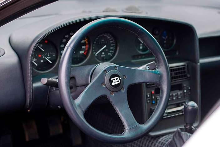 Руль Bugatti EB110 SS Prototype 1993 года выпуска