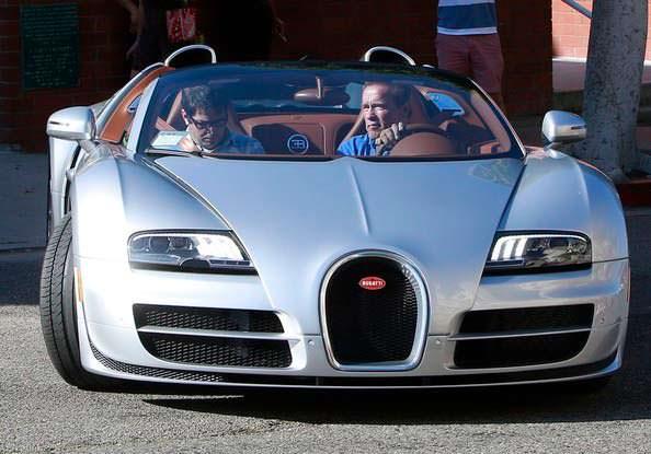 Bugatti Veyron Grand Sport Vitesse Арнольда Шварценеггера