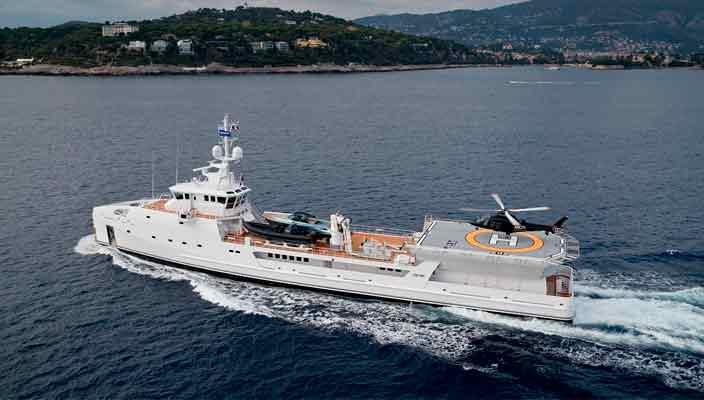Экспедиционная яхта Game Changer от Damen Yacht продана | фото