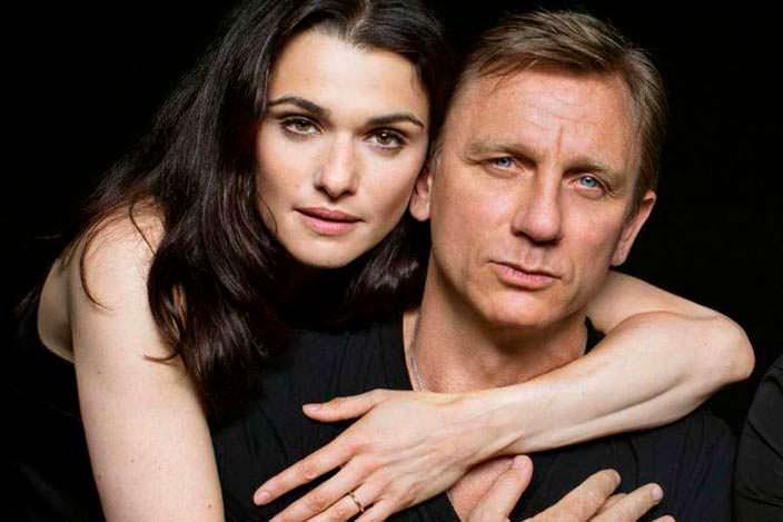 Фото | Дэниел Крэйг и его жена Рэйчел Вайс