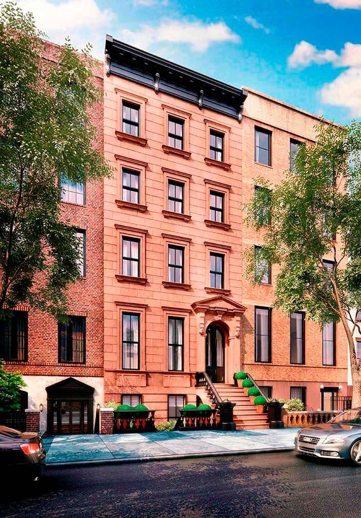 Пятиэтажный дом 1901 года постройки в Бруклине