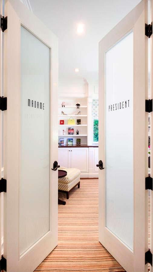 Красивый дизайн межкомнатных дверей