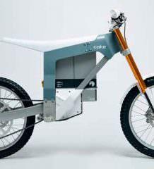 Представлен электрический эндуро мотоцикл CAKE KALK | видео