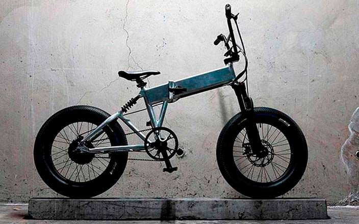 Enki Cycles Billy: складной электрический велосипед BMX
