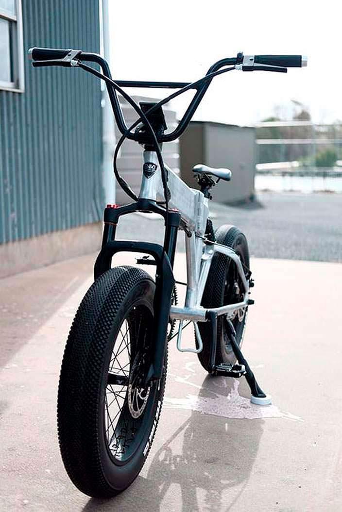 Электрический велосипед BMX: скорость до 32 км/ч