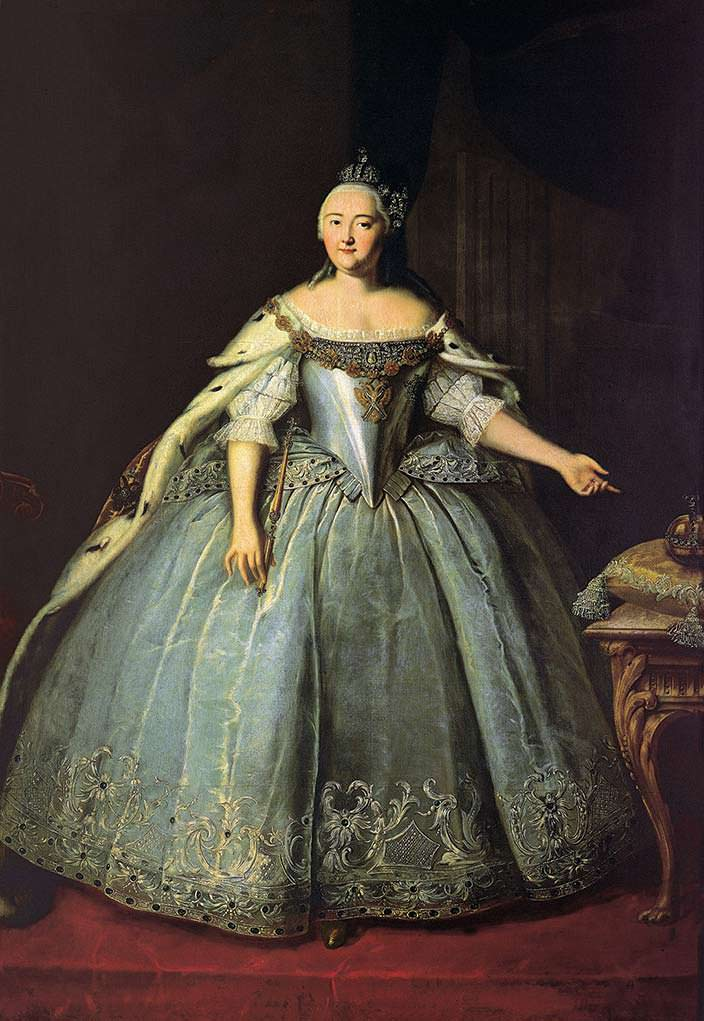 Елизавета Петровна - развратная российская императрица
