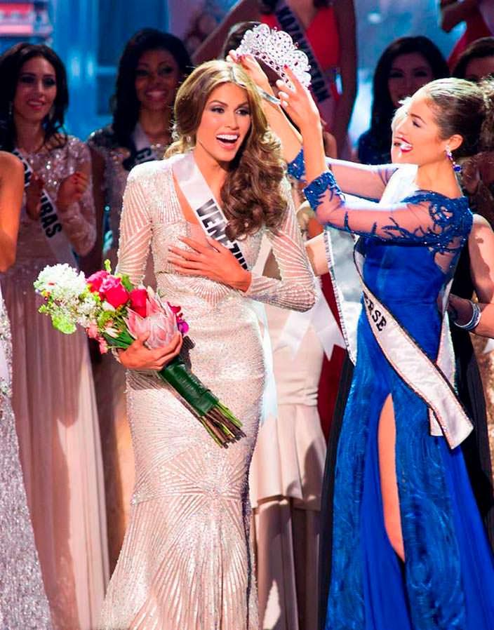 Габриэла Ислер «Мисс Вселенная 2013» и Оливия Калпо
