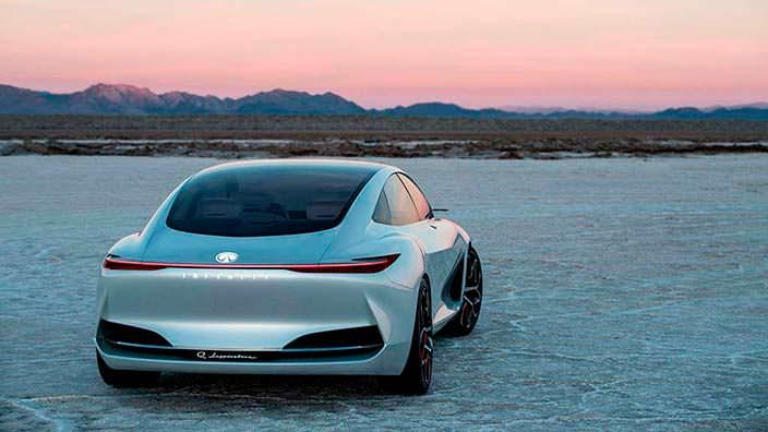 Автомобиль будущего Infiniti Q Inspiration Concept
