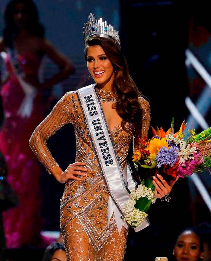 Ирис Миттенар - француженка Мисс Вселенная 2016