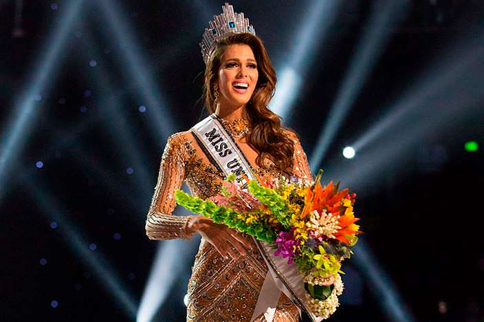 Ирис Миттенар - Мисс Вселенная 2016