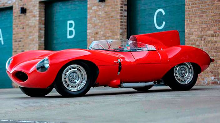 Jaguar D-Type 1956 года выпуска. Один из 53-х