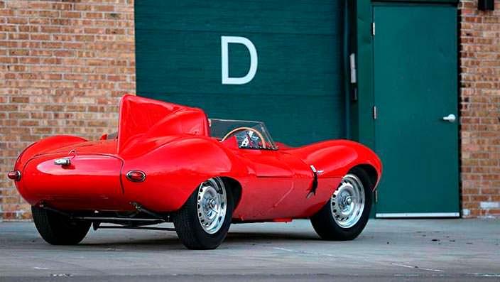 Коллекционный Jaguar D-Type 1956 года выпуска