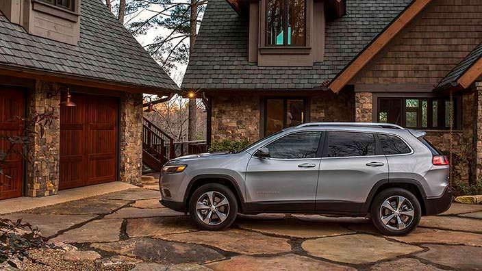 Новый Jeep Cherokee 2019