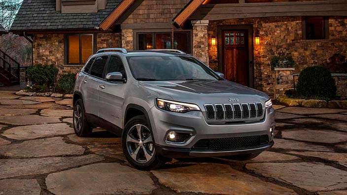 Обновлённый Jeep Cherokee 2019 года