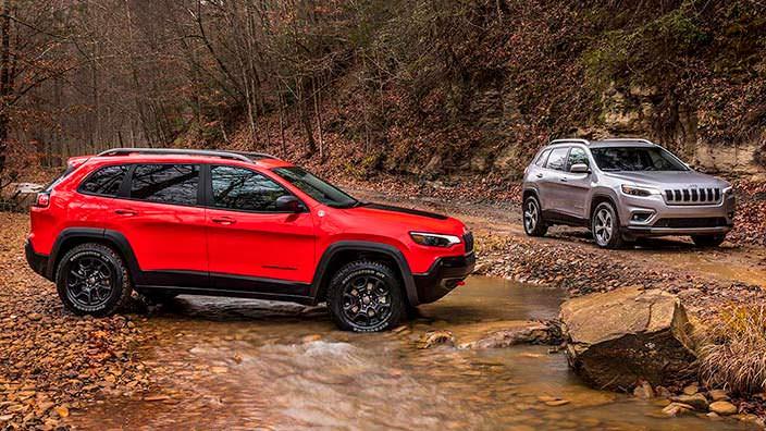 Новый Jeep Cherokee 2019 года
