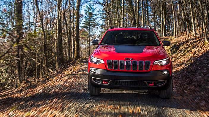 Обновлённый Jeep Cherokee Trailhawk 2019 года