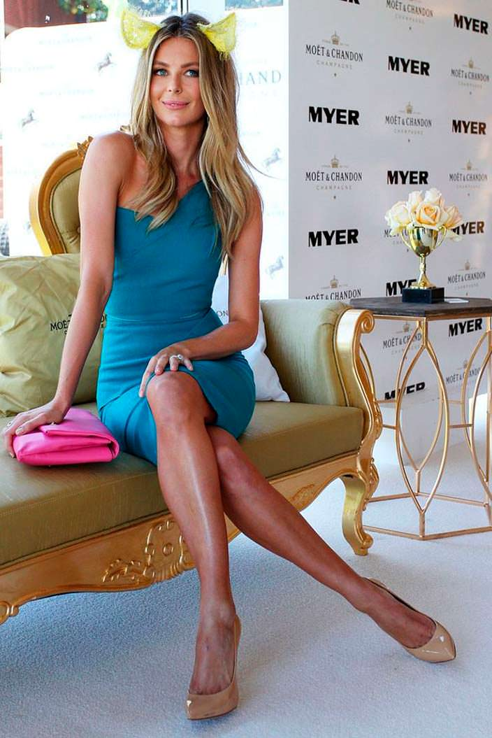 Австралийская модель Дженнифер Хоукинс