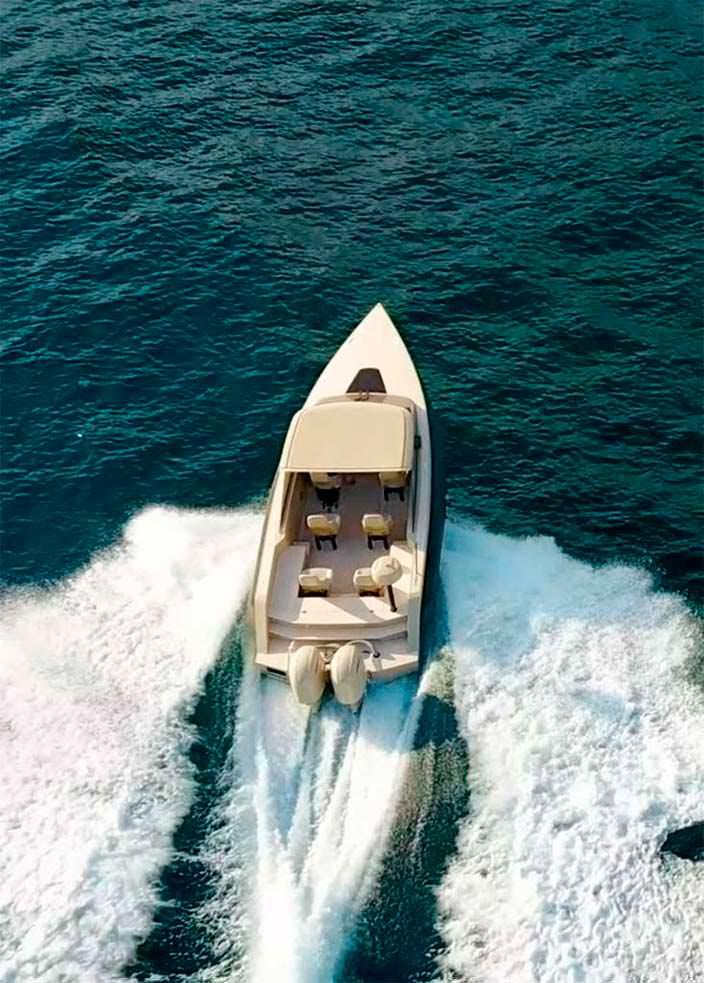 Катер-амфибия на гусеничном ходу от Iguana Yachts