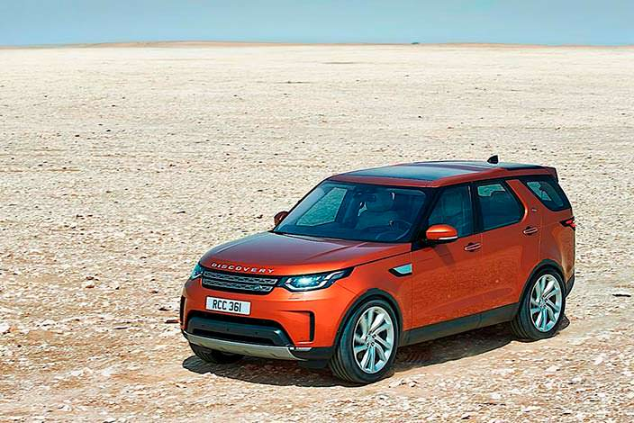 Land Rover Discovery. Лучший автомобиль 2018 года