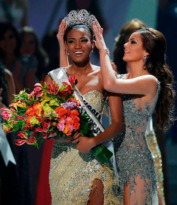 Лейла Лопес «Мисс Вселенная 2011» и Химена Наваррете