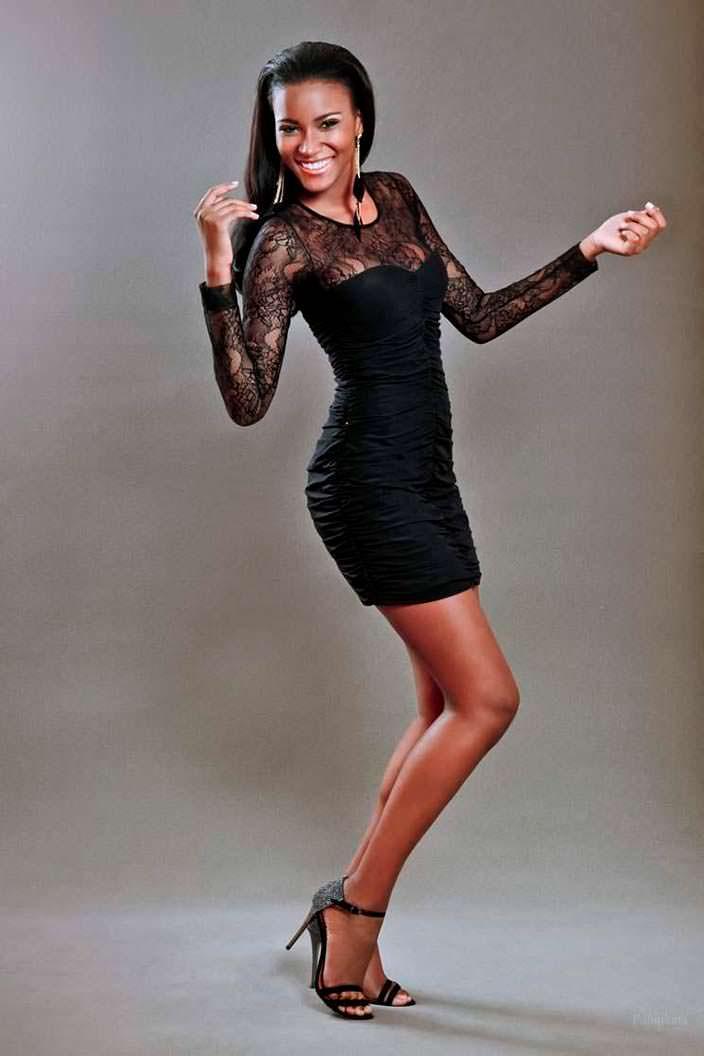 Африканская модель Лейла Лопес
