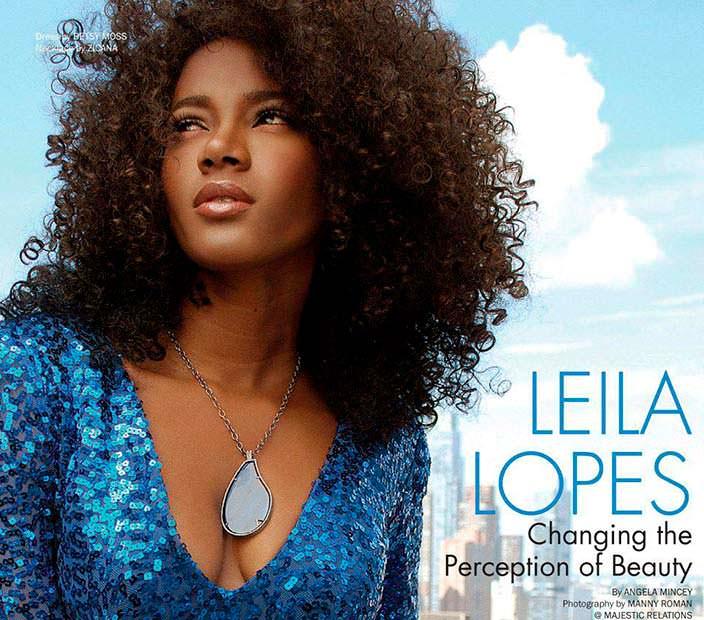 Лейла Лопес - Мисс Вселенная из Африки