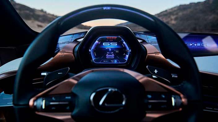 Кокпит как в истребителе Lexus LF-1 Limitless 2018