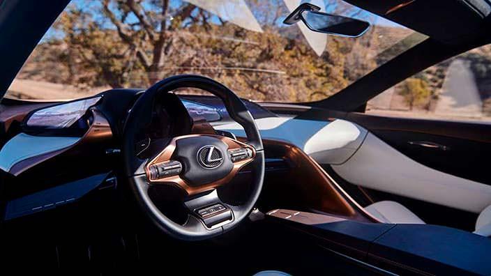 Фото внутри Lexus LF-1 Limitless 2018