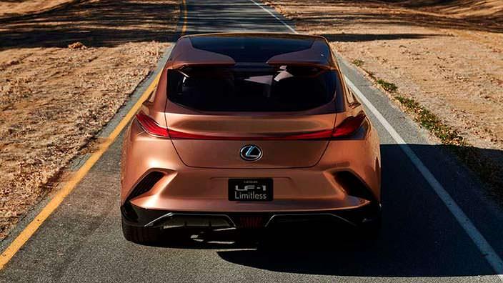 Прототип Lexus LF-1 Limitless 2018 года
